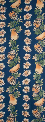 Wafuka - Tropical fruits  (The dyed Tenugui)
