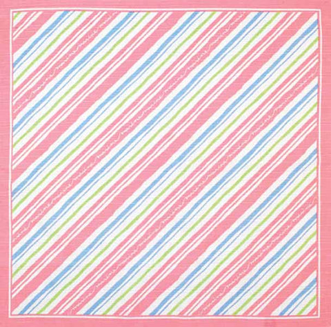 Kenema - Marine border Furoshiki  (Japanese Wrapping Cloth)