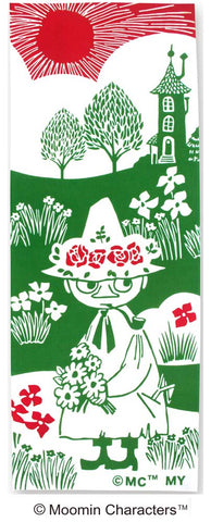 Kenema - Moomin Characters series - Snafkin  (The dyed Tenugui)
