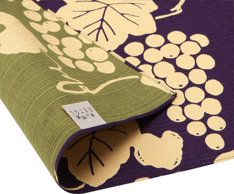 Omotenashi -  Double-Sided Dyeing Grape - Purple - Furoshiki 50 x 50 cm (Japanese Wrapping Cloth)