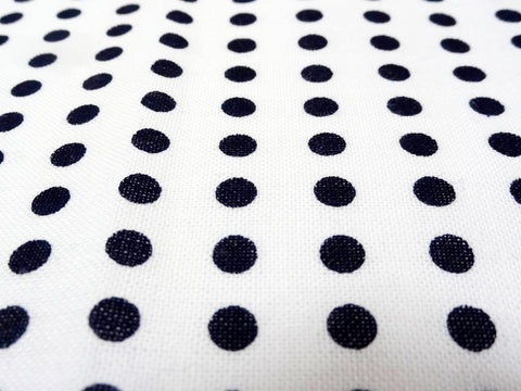 3 Units of Mameshibori - (Navy dot) Japanese Tradition Cotton Towel (Tenugui) 33 x 86 cm  (The dyed Tenugui)