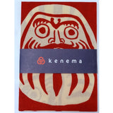 Kenema - Vicissitudes of life Red (The dyed Tenugui)