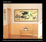 Tominaga Jyuho - Japanese Traditional Hand Paint Byobu (Gold Leaf Folding Screen) - X104 - Free Shipping