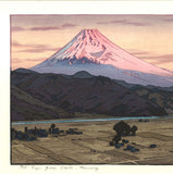 Yoshida Toshi - #016205 Izu Ohito (Mt.Fuji from Ohito in the morning) - Free Shipping