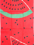 Wafuka - Suika (Watermelon)  (The dyed Tenugui)