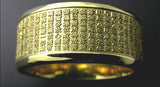 Saito - Heart Sutra Slim Gold Ring (18Kt Gold) - Free Shipping