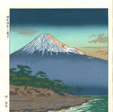 Okada Koichi -Hagoromo Kaigan no Fuji  (The view of Mt.Fuji from Hagoromo coast) - Free Shipping