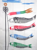 Wafuka - Koinobori (Carp streamer) (The dyed Tenugui)