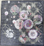 Maruwa -  Treasure of Seven w/ Four Seasons  - Furoshiki (Japanese Wrapping Cloth)