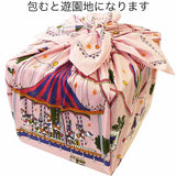 Asayama Misato - Amusement Park 75 x 75 cm Furoshiki (Japanese Wrapping Cloth)  75 x 75 cm Furoshiki (Japanese Wrapping Cloth)
