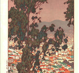 Yoshida Toshi - SanFrancisco - Free Shipping  Only one left!!