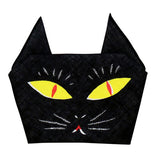 Cochae  soft towel 100% cotton - Neko (Cat) Black   35 x 35 cm
