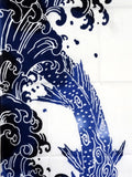Iki - SuiRyu (Water dragon)   (The dyed Tenugui)