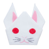 Cochae  soft towel 100% cotton - Usagi (Rabbit) White   35 x 35 cm