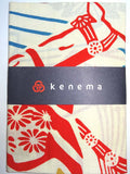 Kenema  - Hana Uma  (The dyed Tenugui)