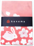 Kenema - Sakura Usagi  (The dyed Tenugui)
