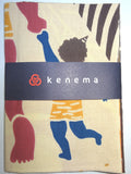 Kenema  - Father and son (Oni)   (The dyed Tenugui)