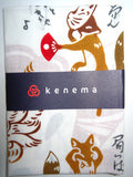 Kenema  - Kitsune Fuku (The dyed Tenugui)