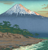 Okada Koichi - #P1 Hagoromo Kaigan no Fuji  (The view of Mt.Fuji from Hagoromo coast) - Free Shipping