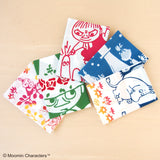 Kenema - Moomin Characters series - Moomin & starry sky  (The dyed Tenugui)