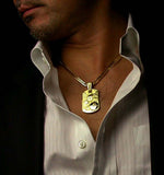 Saito - Rise Dragon-L Gold Pendant Top (18Kt Gold) - Free Shipping