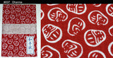 3 Units of Japanese Tradition Cotton Towel (Tenugui) 33 x 90 cm  (The dyed Tenugui)