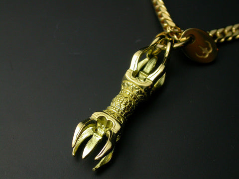 Saito - Vajra Gold Pendant Top (18Kt Gold) - Shipping Free