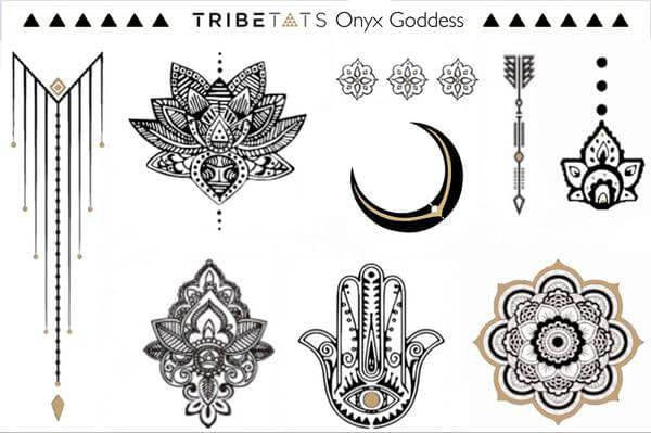 Custom Metallic Tattoos