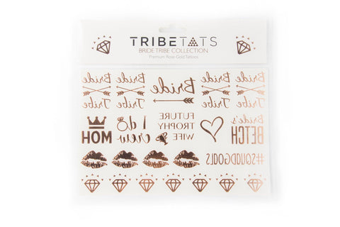 Bride Tribe Bachelorette Collection | Rose Gold Variety Set