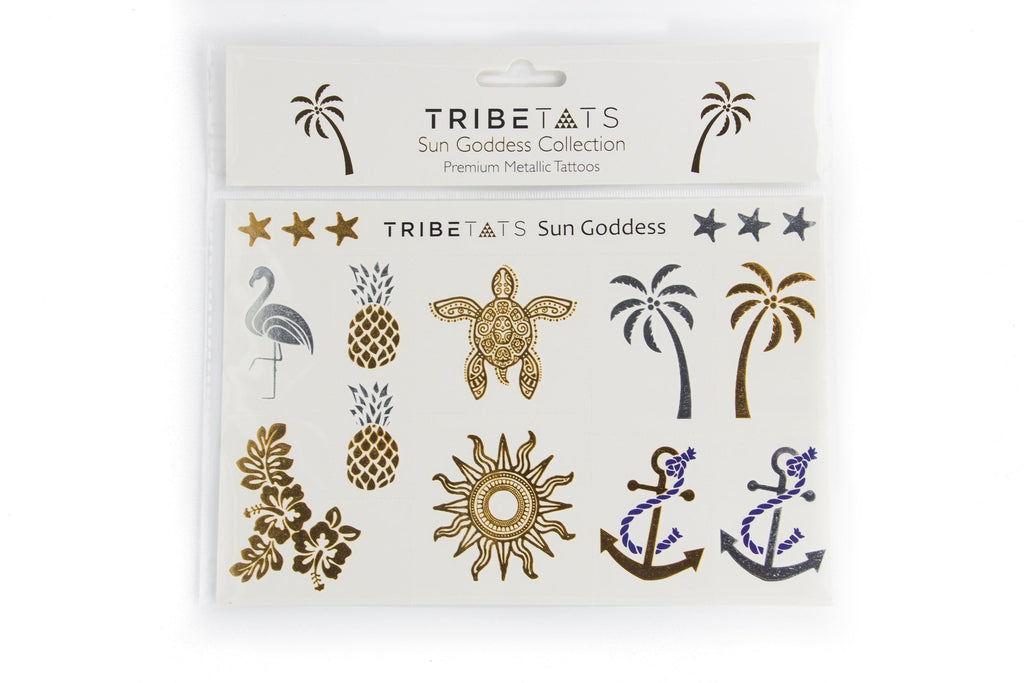 Sun Goddess Collection | Metallic Tattoos Variety Set