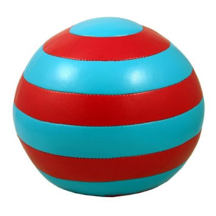 Striped Ball Bookends