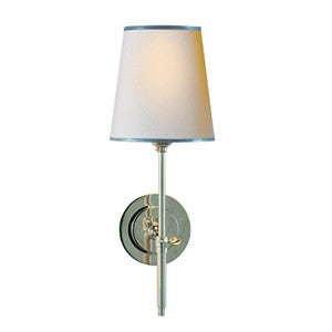 Bryant Sconce - Polished Nickel