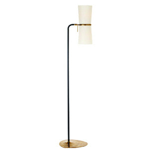 Clarkson Floor Lamp in Black