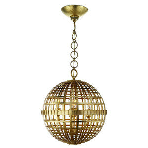 Mill Ceiling Light in Gild