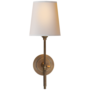Bryant Sconce - Hand-Rubbed Antique Brass