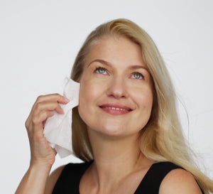 Biodegradable Facial Cleansing Wipes - 2 Pack