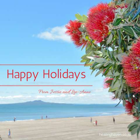 NZ Christmas pohutakawa and sunshine