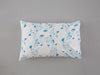 Turquoise Oak Leaf & Acorn Pillowcase