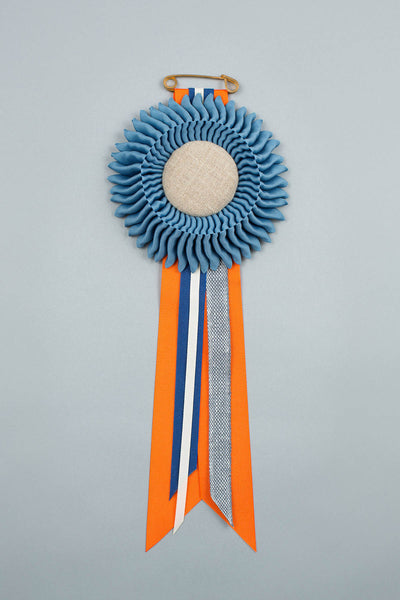 Williamsburg Blue Rosette