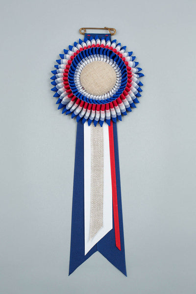 Red, White & Blue Rosette