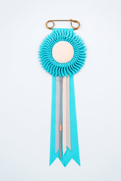 Small Turquoise Rosette