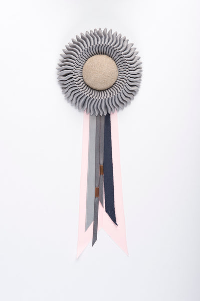Small Light Grey Rosette