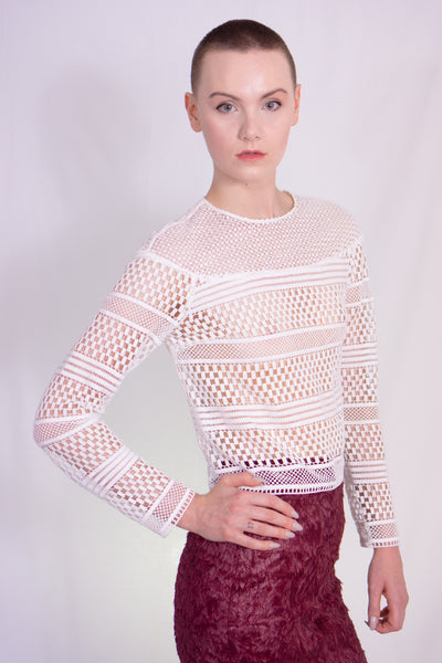 Chemical lace top