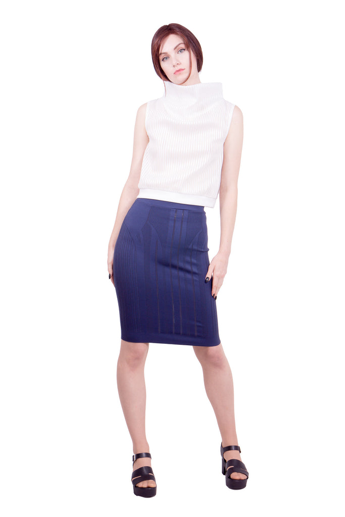 Somarta - Skin series Regulus skirt - blue - Butikku - 2