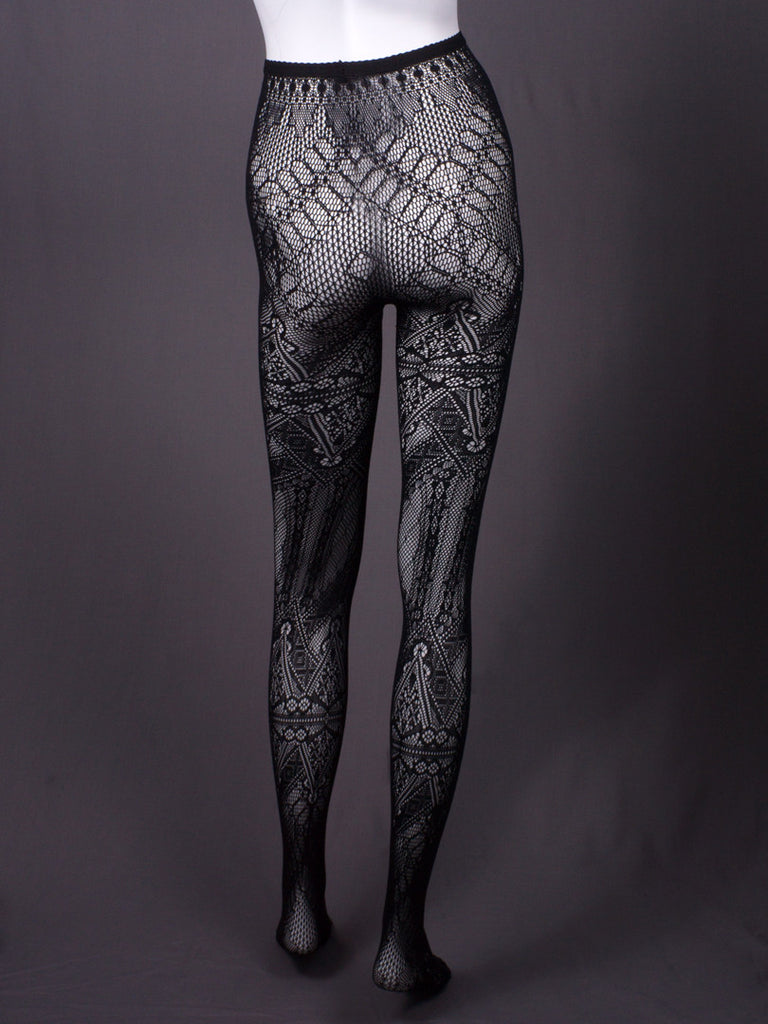 'Theta skin series' tights by Somarta - Butikku ブティック