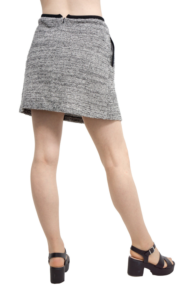 Lamarck - mix tweed knit skirt - Butikku - 4