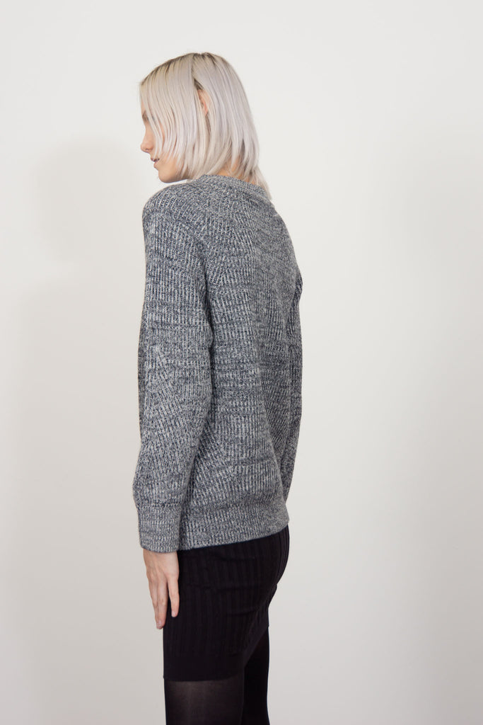 worsted lambswool pullover