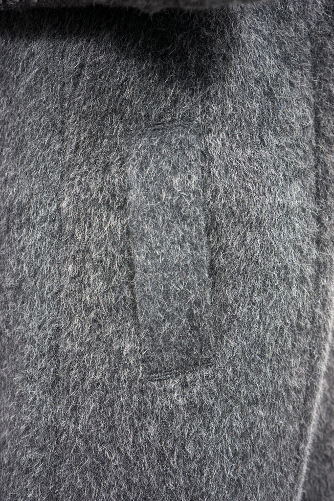 Divka - wool/alpaca single-breasted coat - Butikku - 12