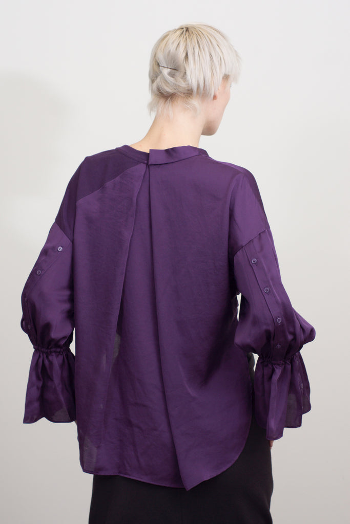 volume sleeve cache-couer top