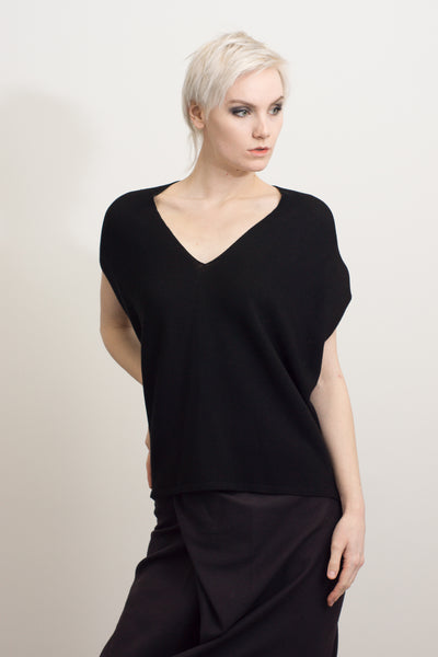 batwing sleeveless top